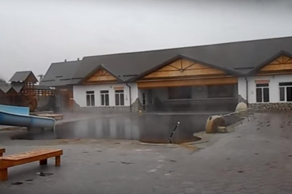 Бассейн с термальной водой в Гедуко