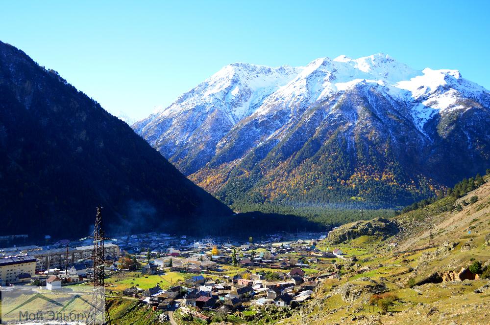 Поселок эльбрус фото